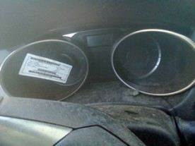 QUADRO PORTASTRUMENTI C/AUTO STOP HYUNDAI IX35 (02/10-) D4FD 940032Y300