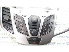 AUTORADIO C/ICE-MID LEVEL CD+AD/FM RADIO FORD FIESTA (CB1) (09/08-10/13) KVJA 2000949