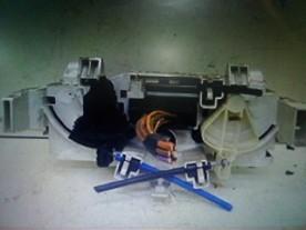 BLOCCO COMANDO CLIMATIZZAZIONE C/A/C CITROEN C3 2A SERIE (09/05-11/10) HFX 6451KR