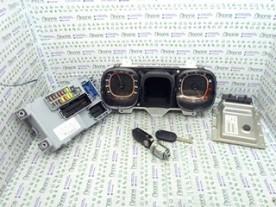 KIT CHIAVI FIAT PANDA (33) (12/11-04/17) 169A4000 NBA012006085002
