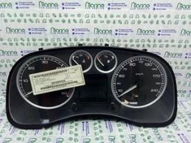 QUADRO STRUMENTI COMPL. C FONDO NERO PEUGEOT 307 (04/01-12/06) RHS 6103K1
