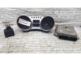 KIT CHIAVI MERCEDES-BENZ CLASSE M (W164) (03/05-03/12) 642940 NBA012013038003