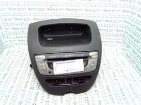 AUTORADIO PEUGEOT 107 (06/05-) 1KR 6564K6