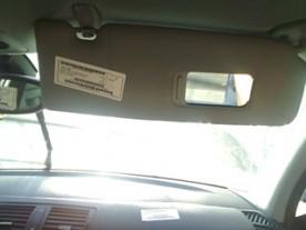 ALETTA PARASOLE PARABREZZA NERO DX. BMW SERIE 1 (E81/E87) (03/07-12/12 N47D20A 51167252504